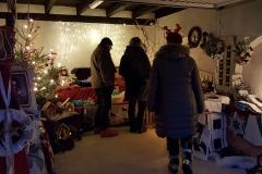 Weihnachtliche Dinge in der Adventsstube
